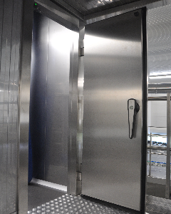 Inspection door of the step-tower proofer Alitech