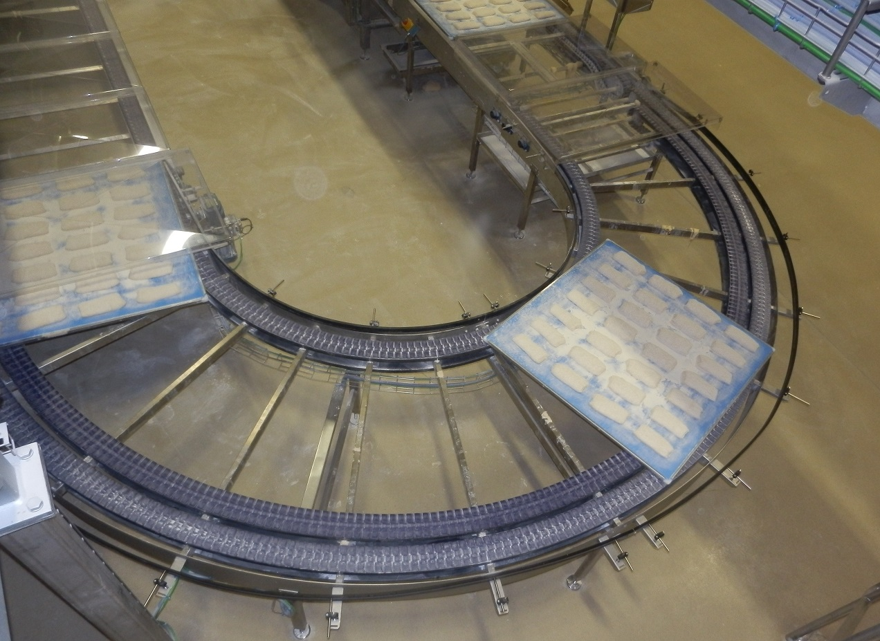 180 degrees curve conveyor Alitech