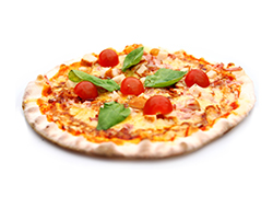 classic italian pizza laminated and produced with Alitech bakery equipment